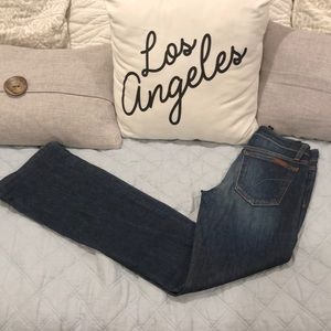 Joe's Jeans in Dark Wash Curvy Bootcut sz 24